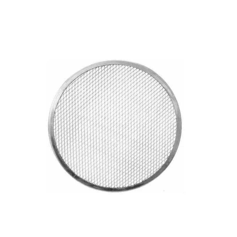 Tela Redonda em Alumínio Para Forma de Pizza 25 cm ABC