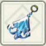 Frozen Lampsquid Earring