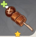 Chicken-Mushroom Skewer