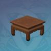 Square Pine Tea Table
