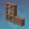 Fir Case Shelf Combination