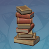 Neat Stack Of Books