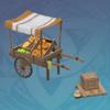 Bountiful Harvest Fruit Cart