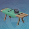 Heavy Fir Forging Table