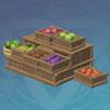 Fruit And Veggie Stall: Harvest Bounties