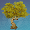 Amber Knotwood Tree