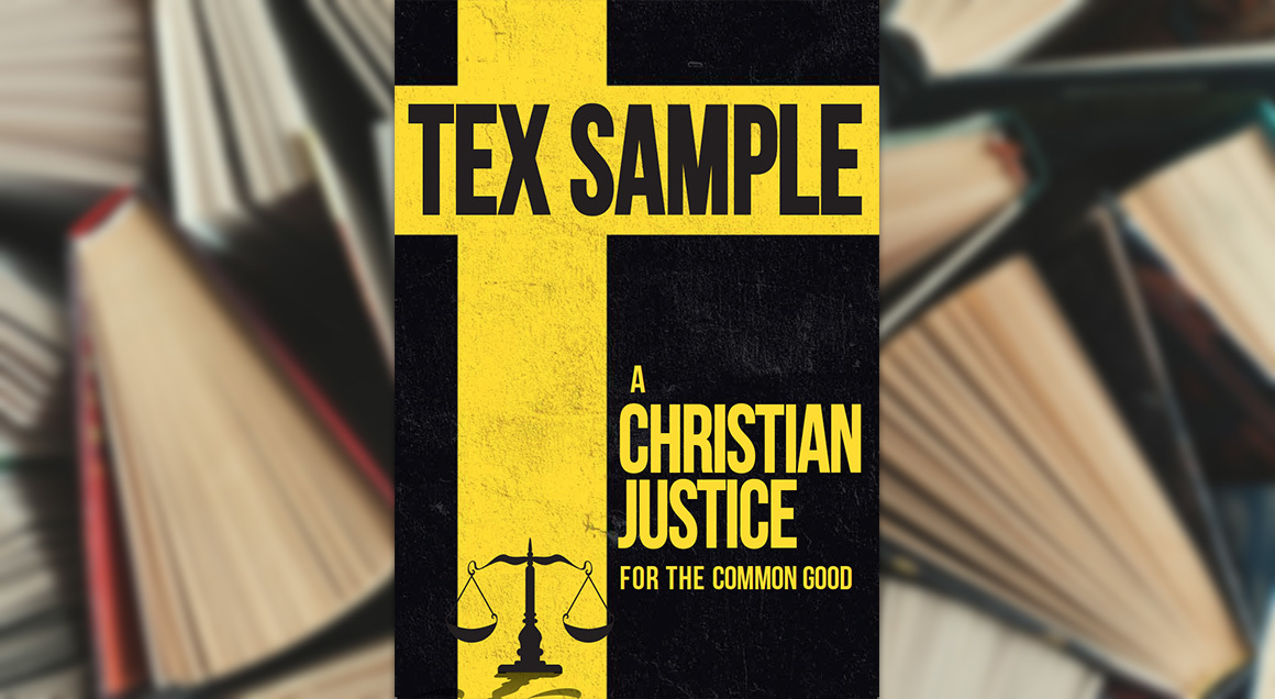 A christian justice with background