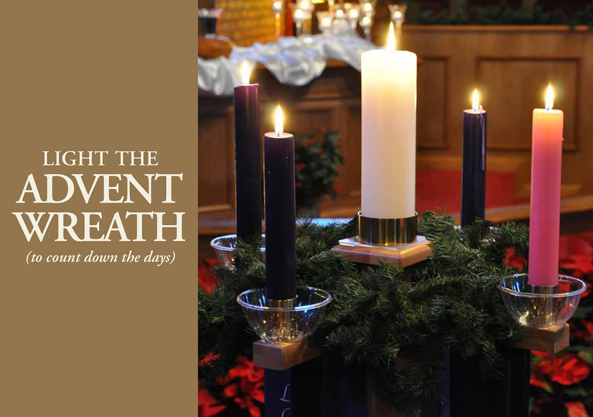 Discipleship Ministries Advent Candle Lighting Liturgy 2020