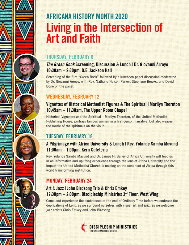 Africana history month2020 flyer