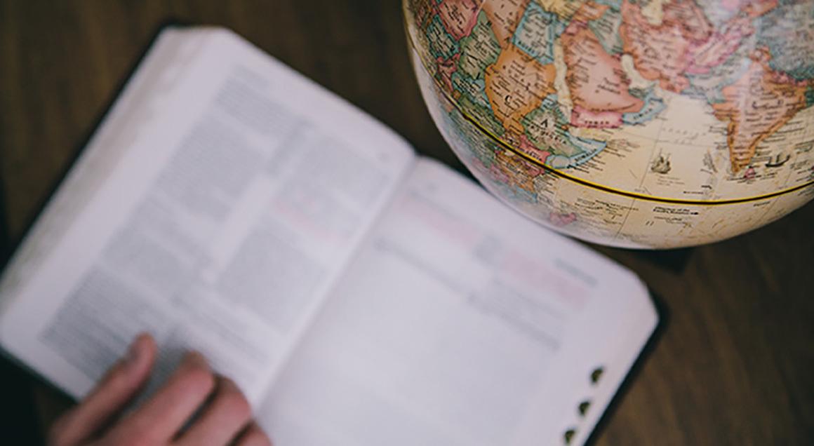Bible and globe 1160x636