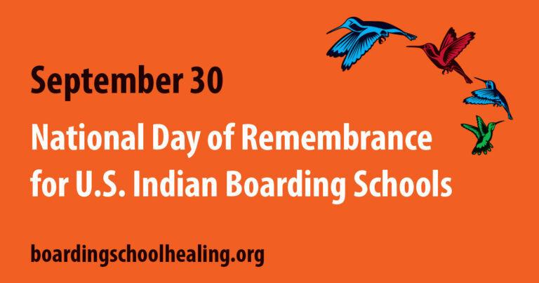 Boarding school healing