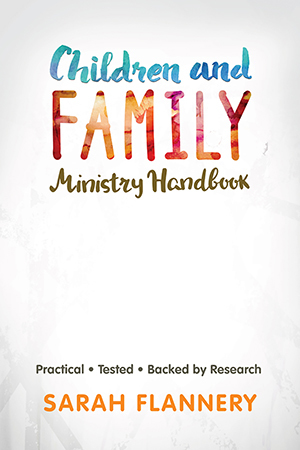 Children and family ministry handbook cover