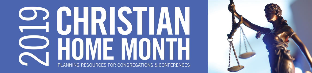 Christian home month2019 banner