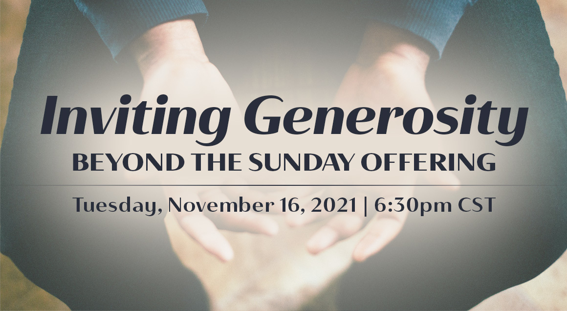 Generosity beyond offering article