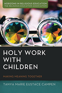 Holy work with children book cover