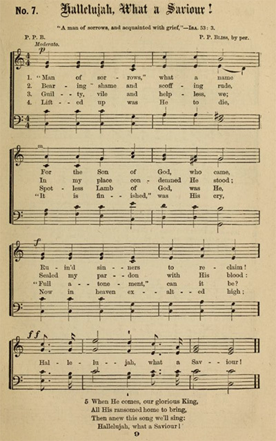 Man of sorrows sheet music
