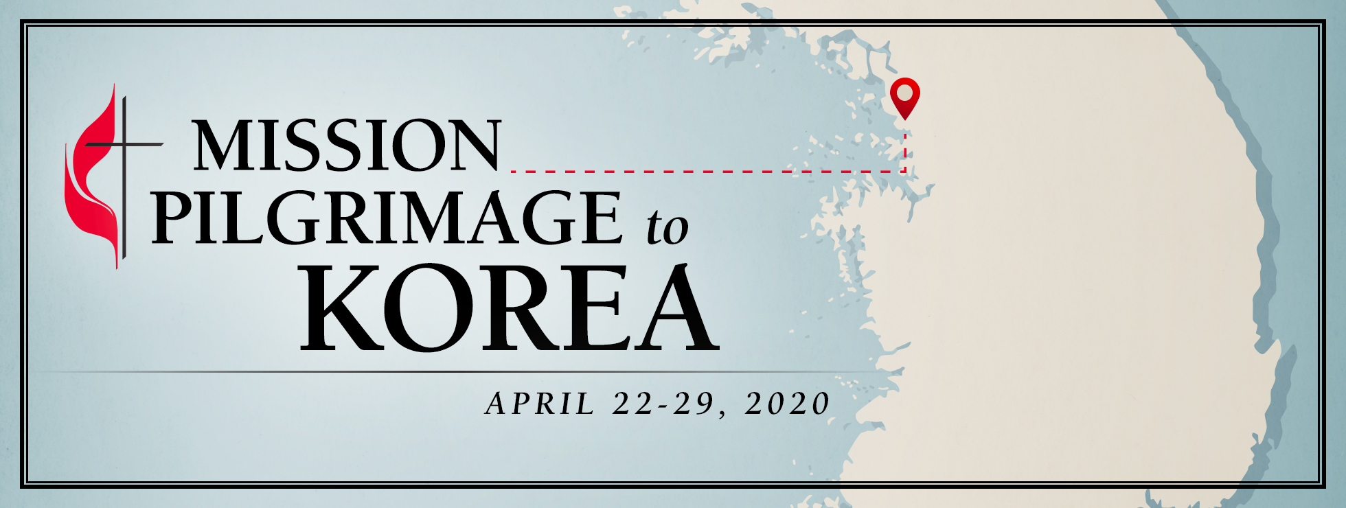 Mission pilgrimage korea 2020