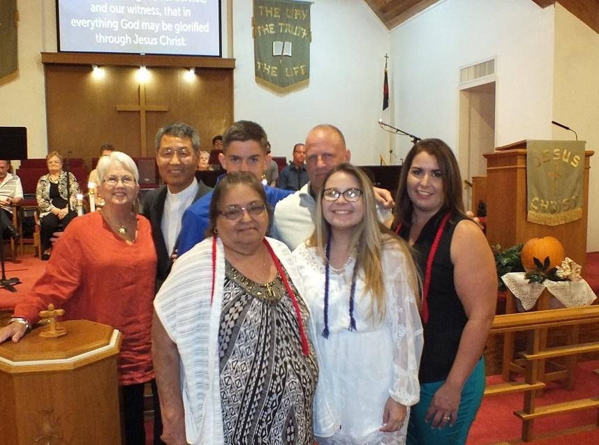 New members aldersgate umc in santa fe tx
