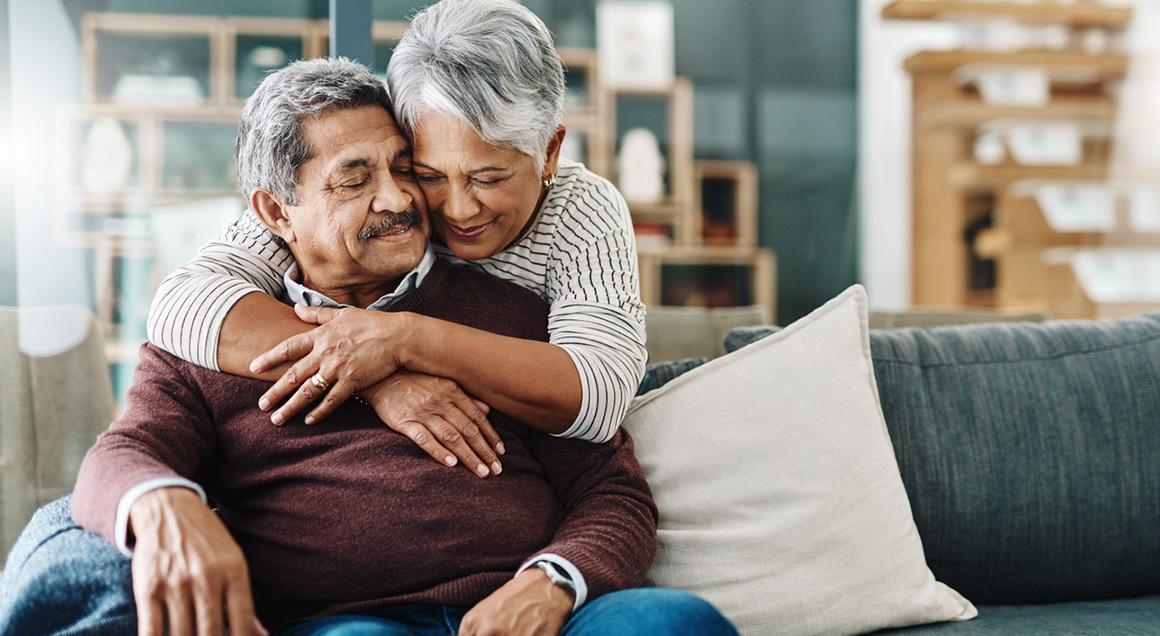 Retirees hugging 72px