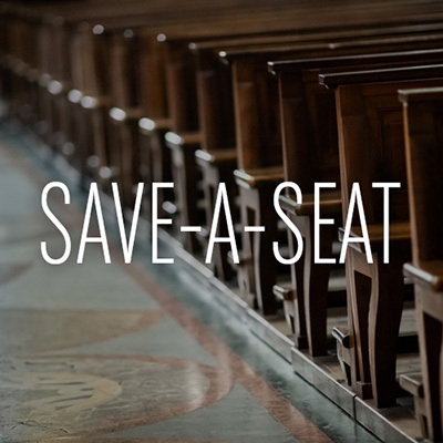 Save a seat 400x400