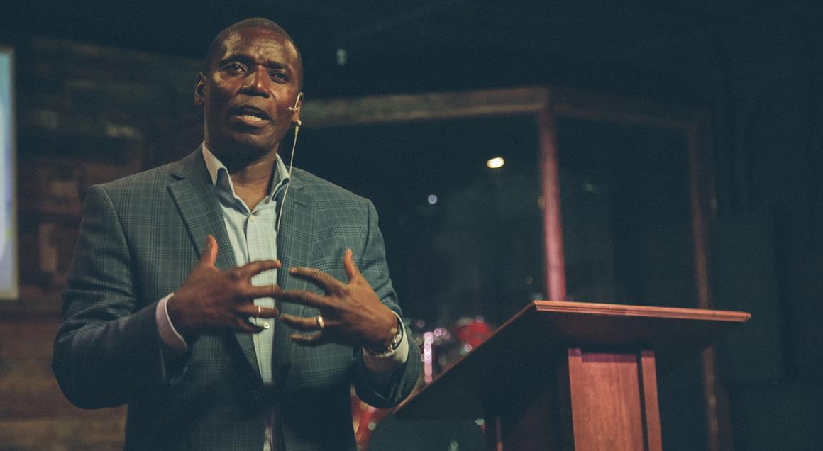 Stock preacher sermon