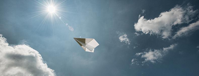 Paper plane 790