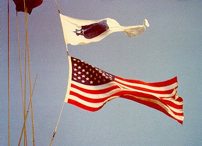 Worship planning us flags