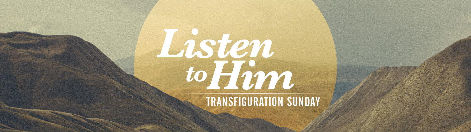 Image result for transfiguration sunday