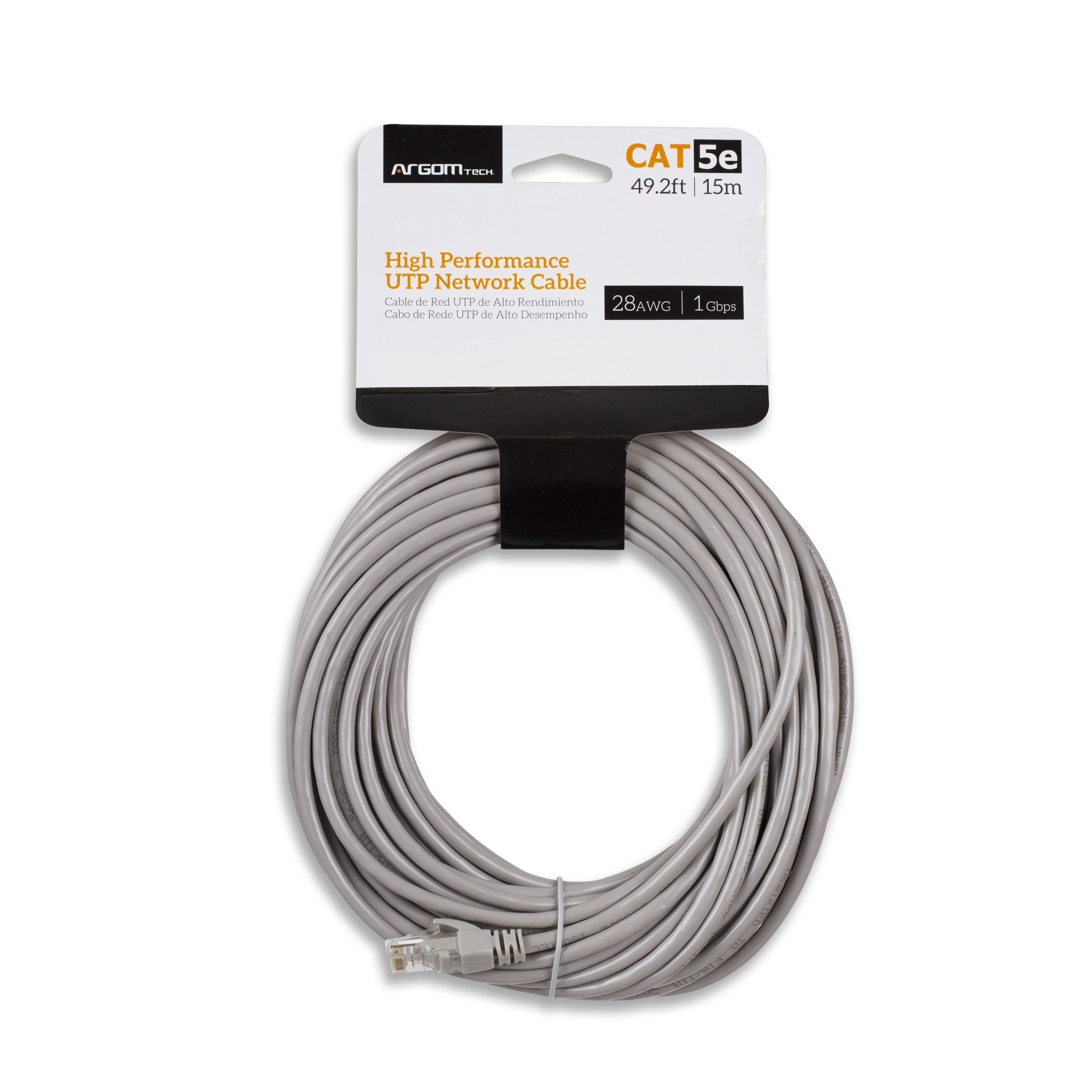CABLE NETWORK UTP CAT5E 49.2FT/15M