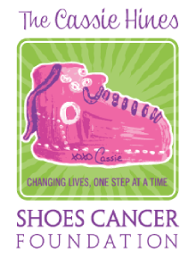 Cassie Hines Shoes Cancer Foundation