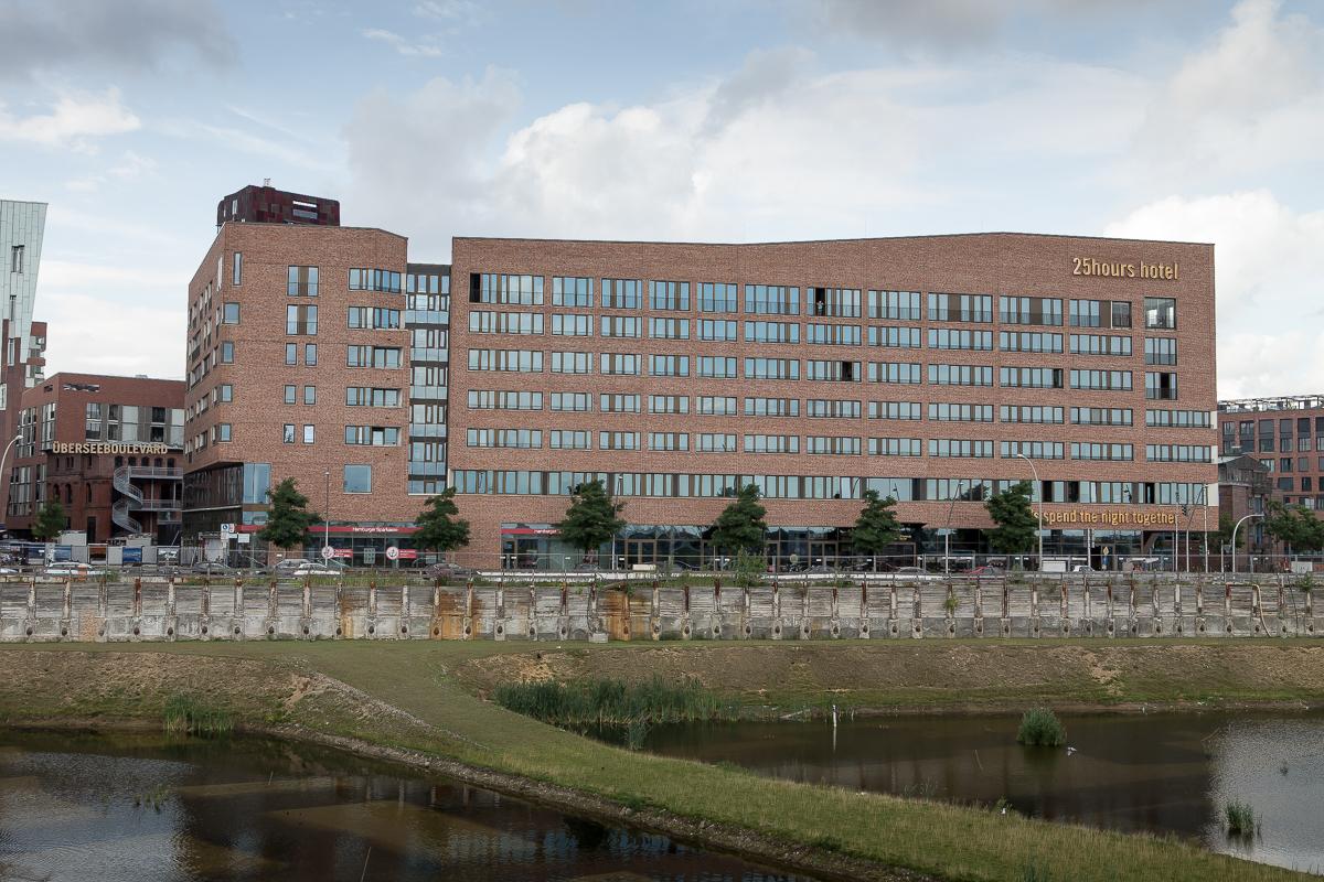 Virginia Building at Überseequartier Nord in Hamburg