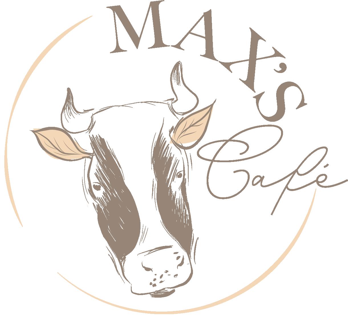 Max's Cafe logo