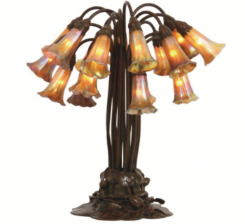Tiffany Studios 18 Light Lily Lamp