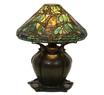 Tiffany Studios Aquatic Fish Lamp