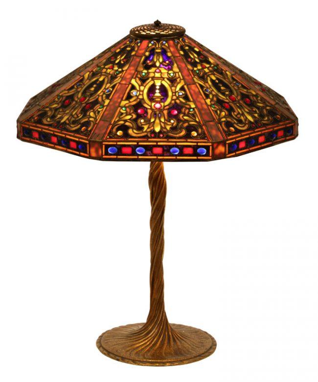 Tiffany Studios Elizabethan Table Lamp
