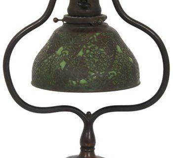 overlay shades Tiffany Studios Lamp