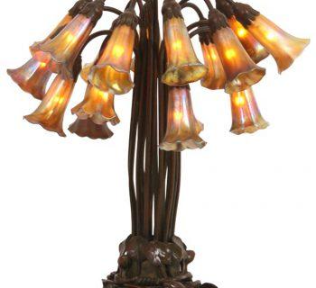 Favrile Tiffany Studios Lamp