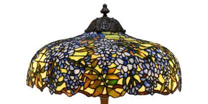 "Duffner & Kimberly ""Wisteria"" Table Lamp"