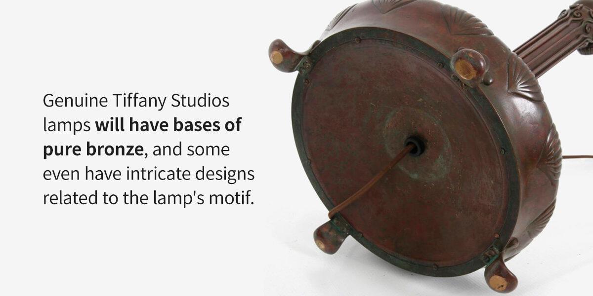 Tiffany Studios Lamp bronze base
