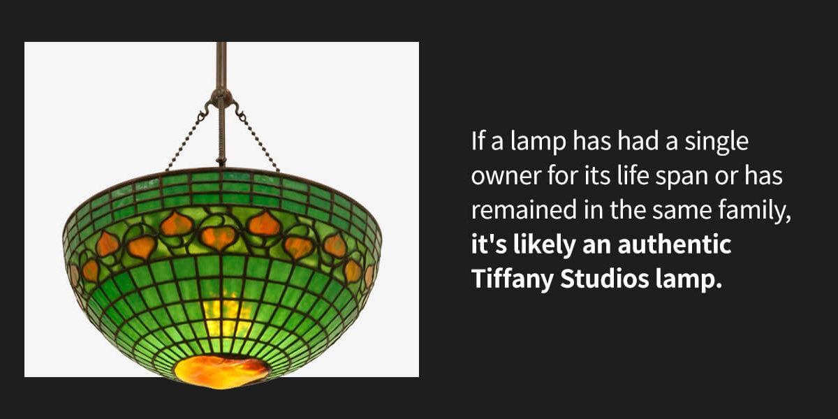 authentic Tiffany Studios Lamp