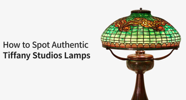 how to spot authentic Tiffany Studios Lamps