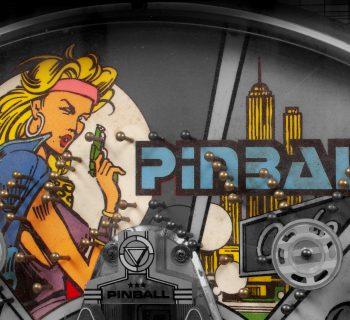 Pinball Machine Graphic - Selkirk Auctioneers February 2021