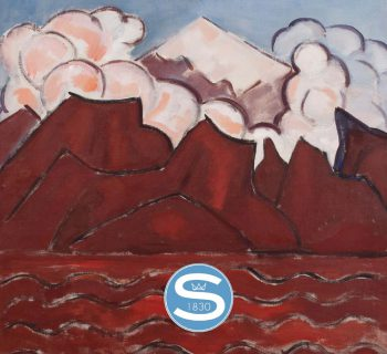 Re-discovered Marsden Hartley oil on canvas sells at Selkirk - catalog cover
