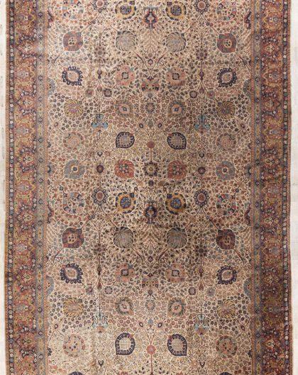 Persian Tabriz Palace Carpet
