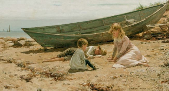 CHARLES MORGAN MCILHENNEY, American (1858-1904)