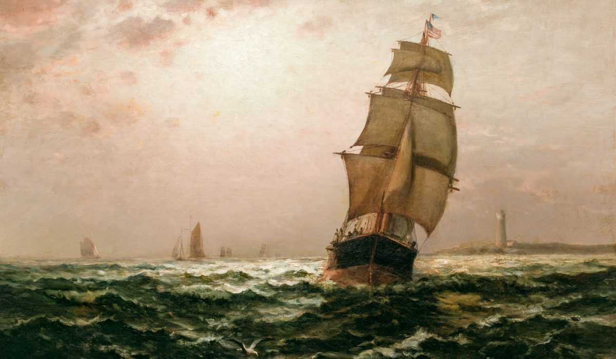 The Journey's End by Edward Moran