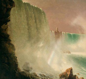Oil painting by JOHN FERGUSON WEIR