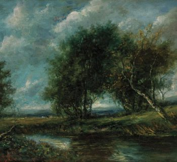 Photo of an oil painting by EDWARD BANNISTER