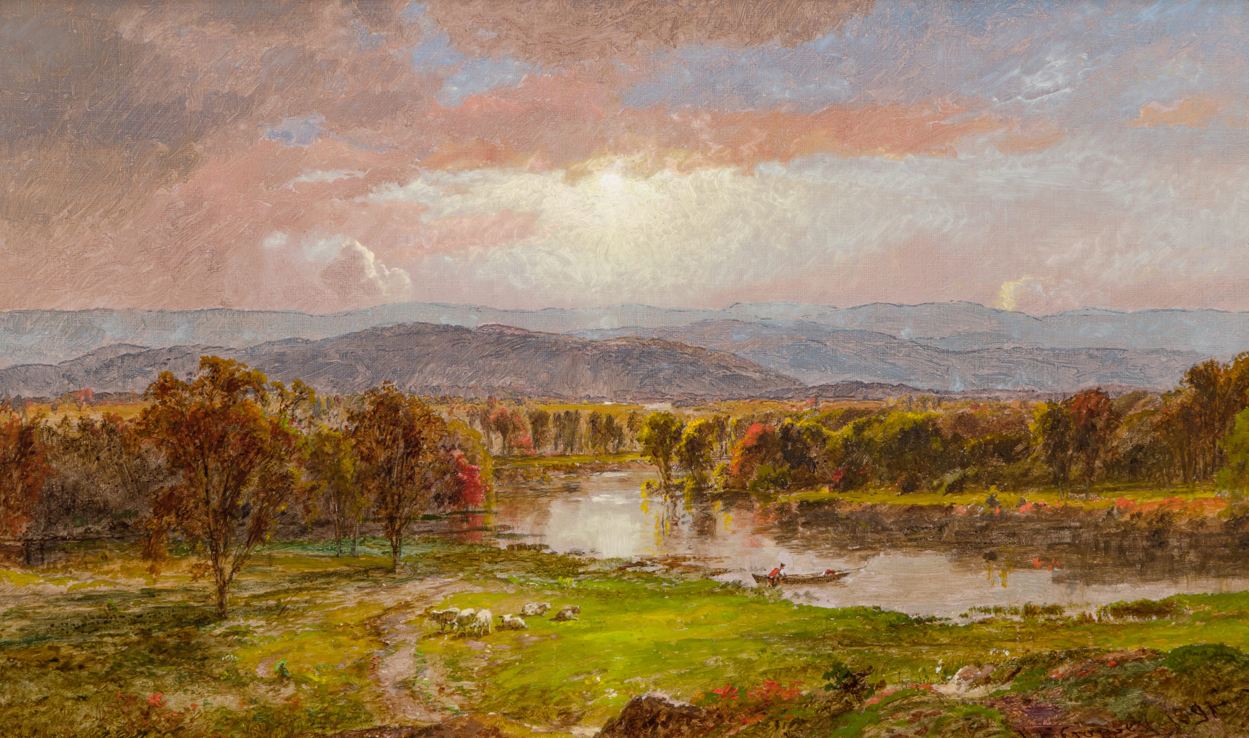 JASPER FRANCIS CROPSEY Oil painting