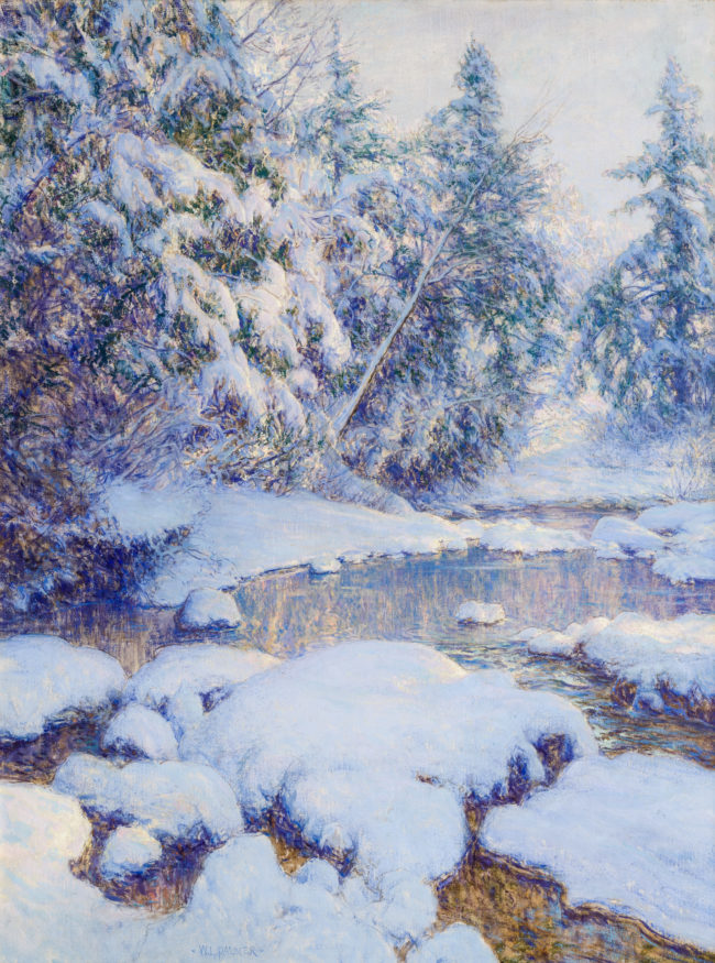 Photograph of an oil painting by WALTER LAUNT PALMER